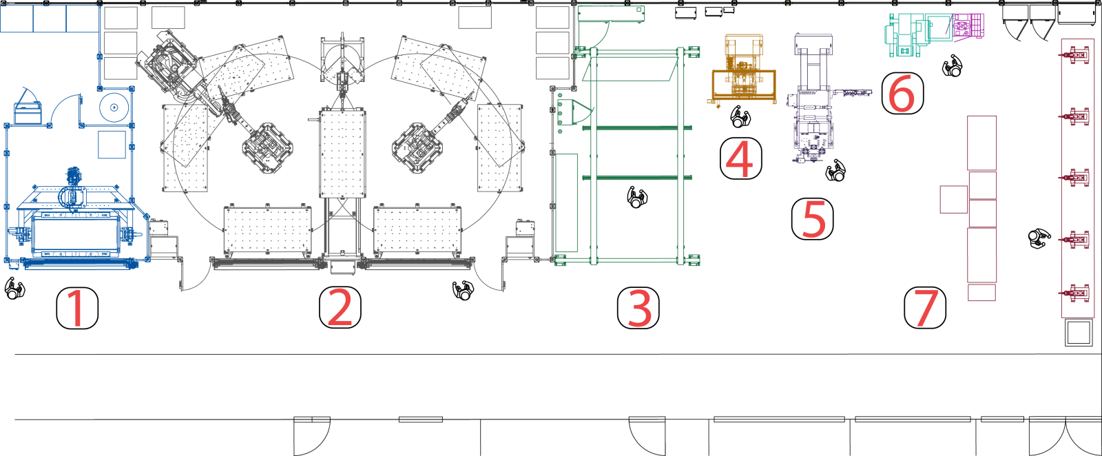 Donald Beneteau Centre of Excellence floor plan