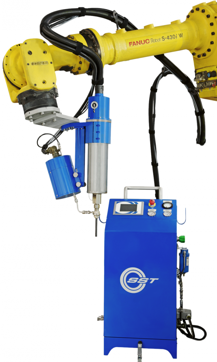 Series EP Cold Spray system