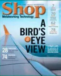 Shop Metalworking Magazine Cover