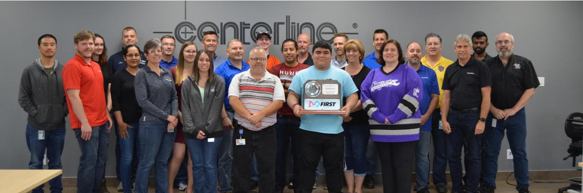 CenterLine FIRST Robotics volunteers